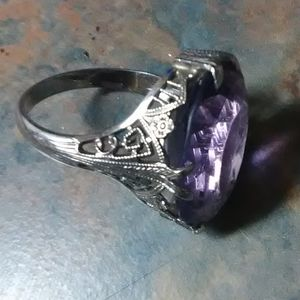 Jewelry - 18 karat SOLID white gold ring